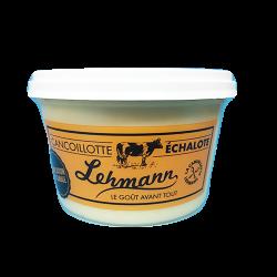 Cancoillotte à l'échalote - Fromagerie Maison Benoit - Vente de Produits Artisanaux en Franche Comté